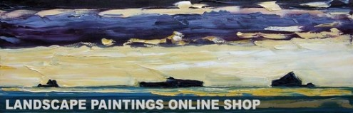 Rod Coyne - buy original landscape paintings online at avocagallery.com